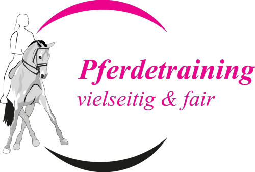 Pferdetraining Logo Paket-Pink-Rolling-ohne hintergrund